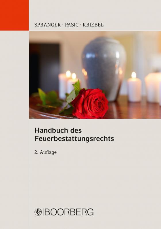 Cover-Bild Handbuch des Feuerbestattungsrechts