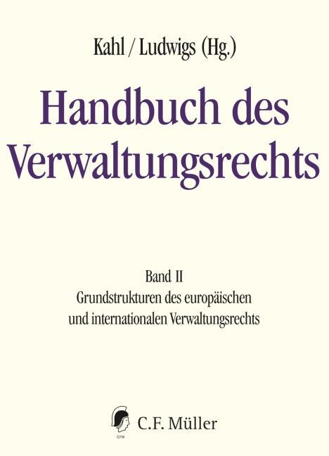 Cover-Bild Handbuch des Verwaltungsrechts