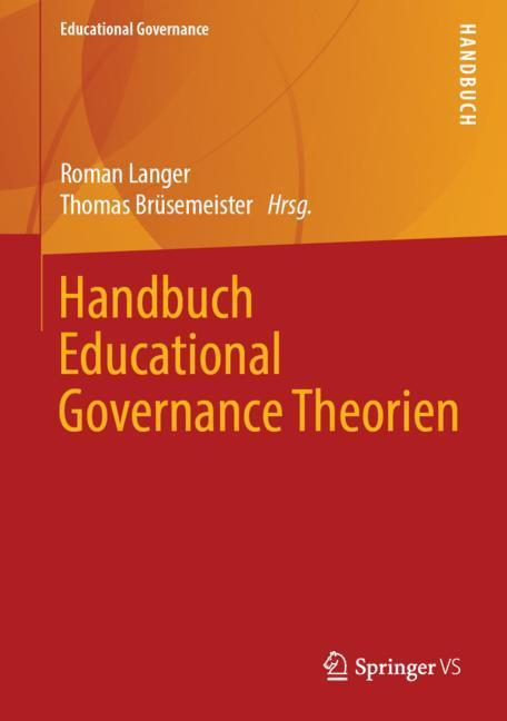 Cover-Bild Handbuch Educational Governance Theorien