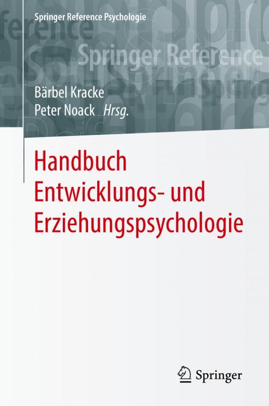 Cover-Bild Handbuch Entwicklungs- und Erziehungspsychologie