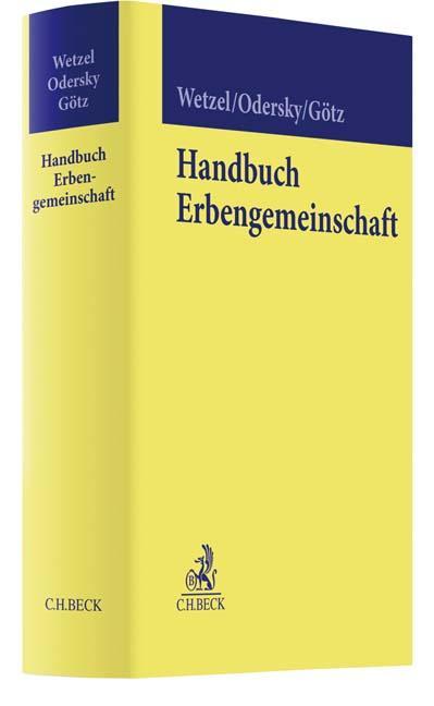 Cover-Bild Handbuch Erbengemeinschaft