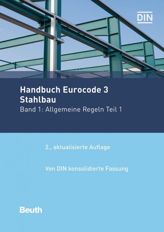 Cover-Bild Handbuch Eurocode 3 - Stahlbau - Band 1