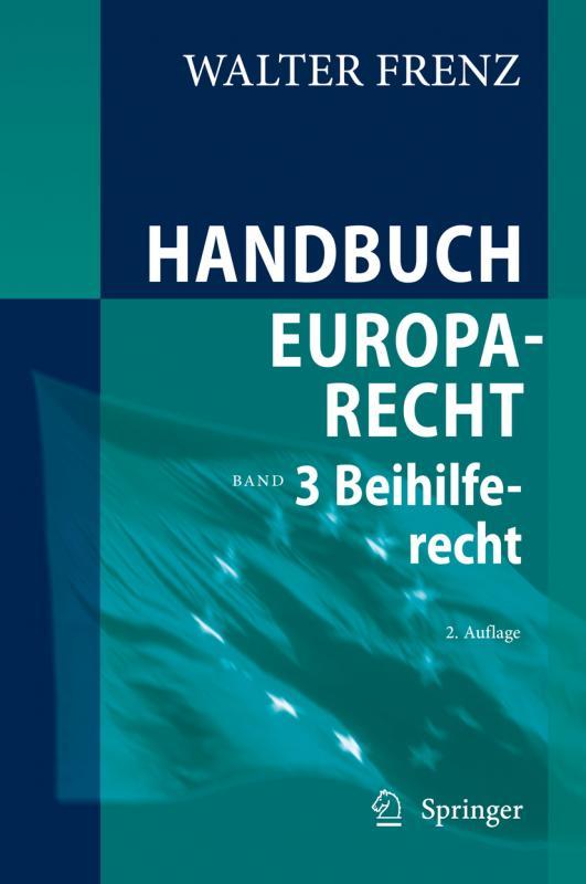 Cover-Bild Handbuch Europarecht