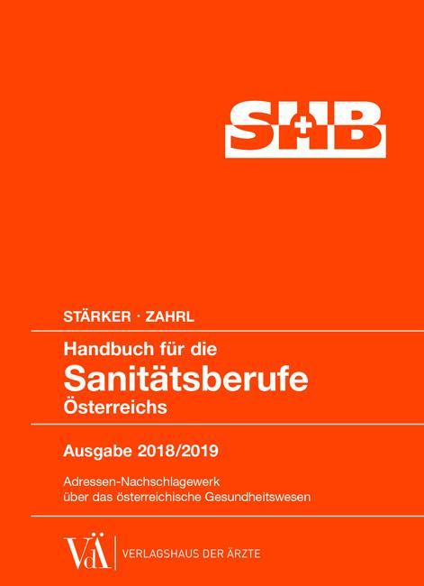 Cover-Bild Handbuch für die Sanitätsberufe Österreichs 2018/2019
