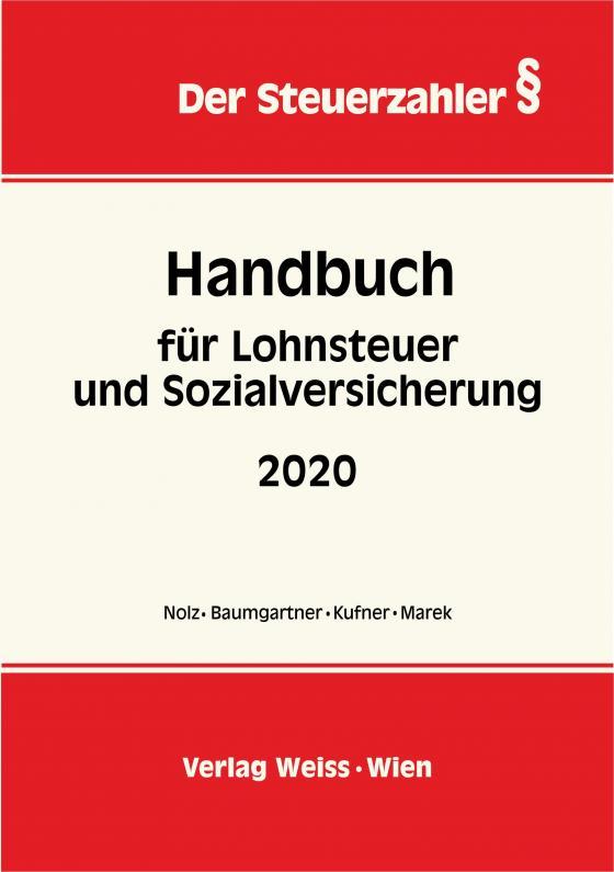 Cover-Bild Handbuch für Lohnsteuer und Sozialversicherung