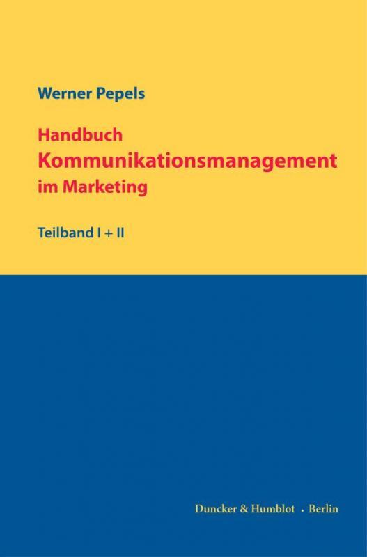 Cover-Bild Handbuch Kommunikationsmanagement im Marketing.