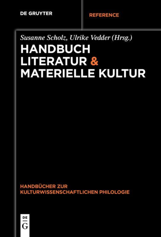 Cover-Bild Handbuch Literatur & Materielle Kultur