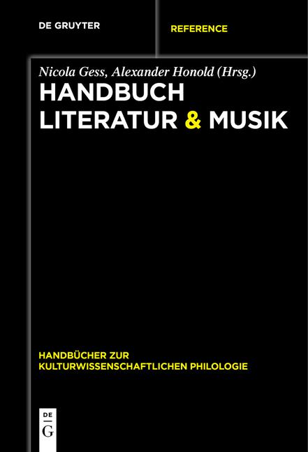Cover-Bild Handbuch Literatur & Musik