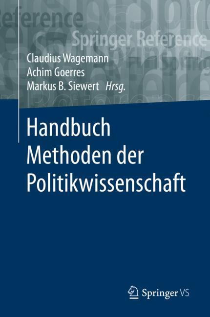 Cover-Bild Handbuch Methoden der Politikwissenschaft