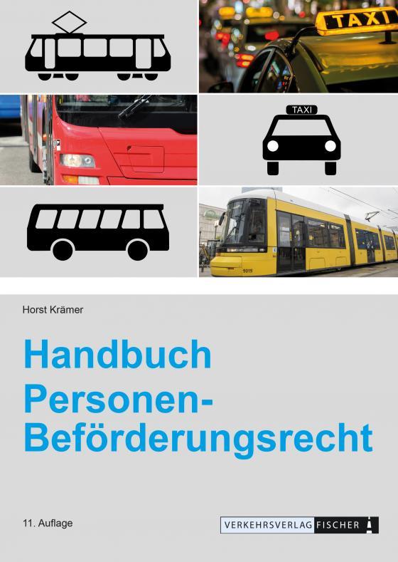 Cover-Bild Handbuch Personen-Beförderungsrecht
