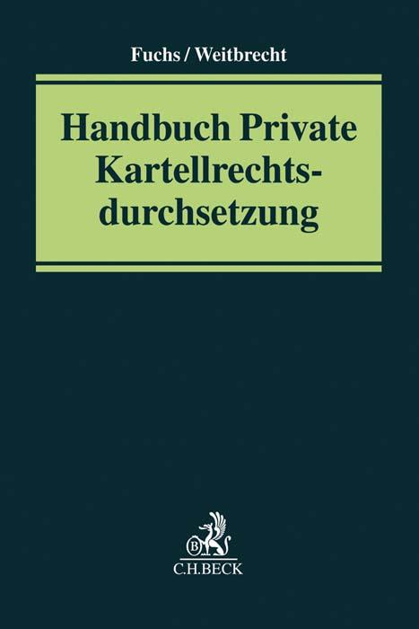 Cover-Bild Handbuch Private Kartellrechtsdurchsetzung