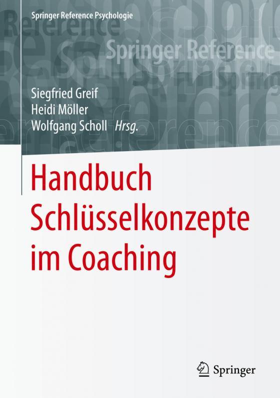 Cover-Bild Handbuch Schlüsselkonzepte im Coaching