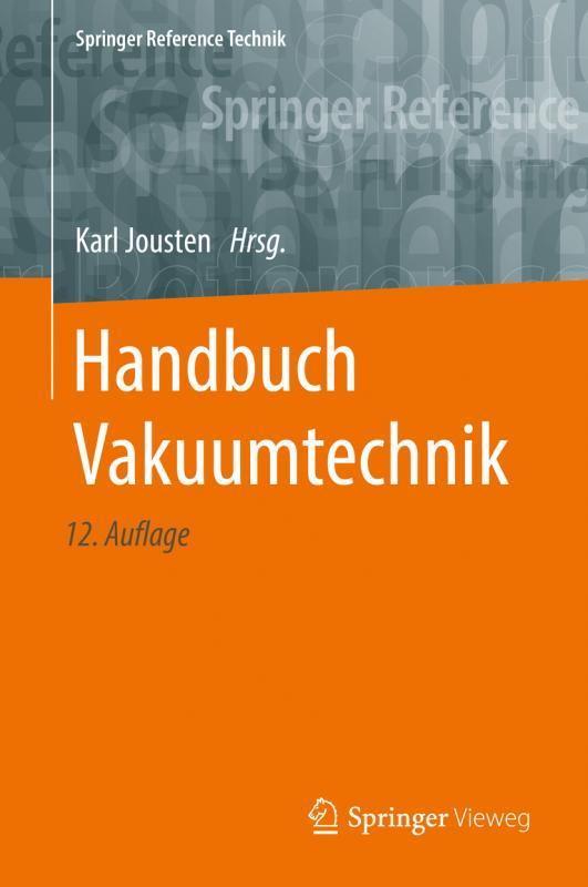 Cover-Bild Handbuch Vakuumtechnik