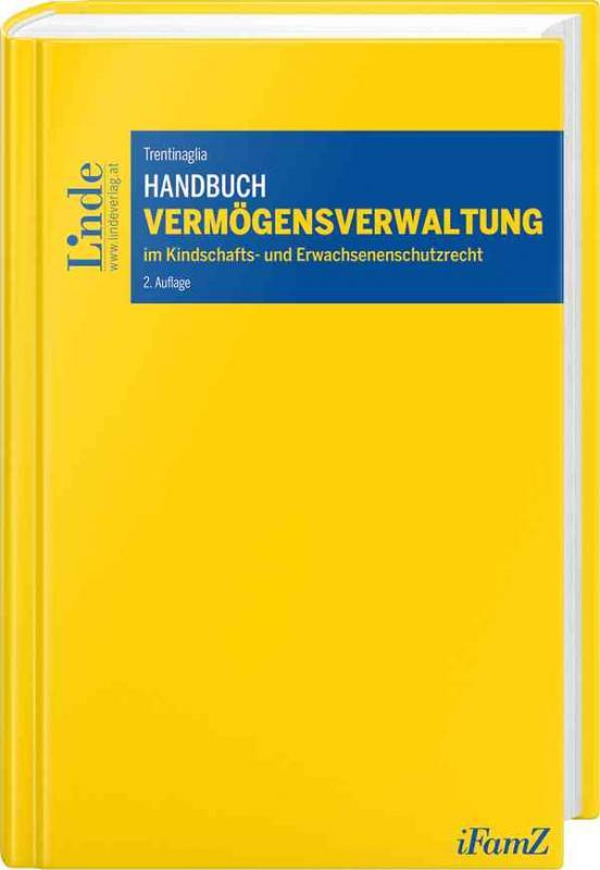 Cover-Bild Handbuch Vermögensverwaltung im Kindschafts- und Erwachsenenschutzrecht