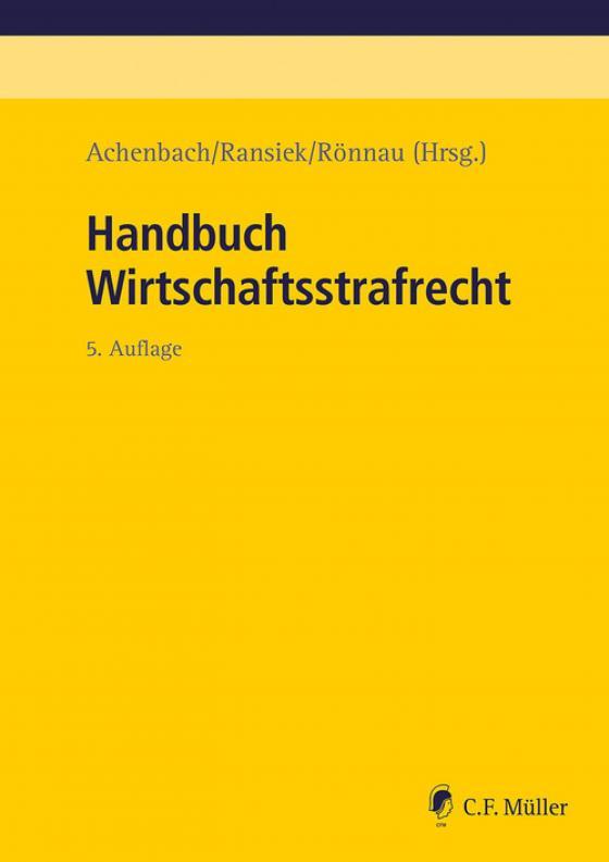 Cover-Bild Handbuch Wirtschaftsstrafrecht