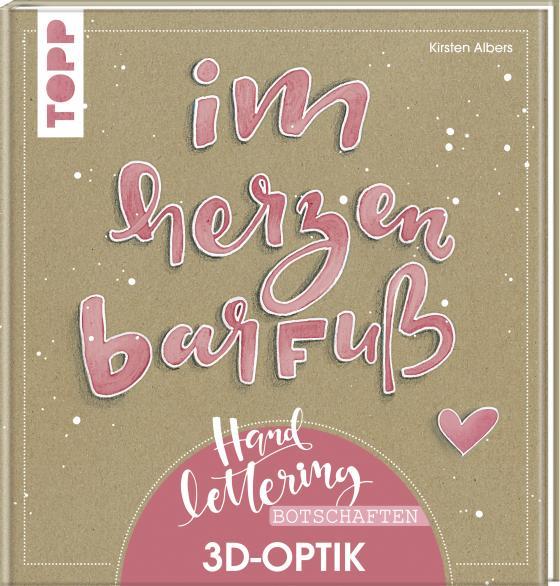 Cover-Bild Handlettering-Botschaften. 3D-Optik