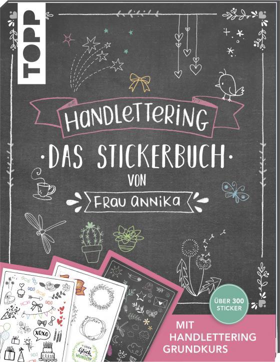Cover-Bild Handlettering. Das Stickerbuch von Frau Annika