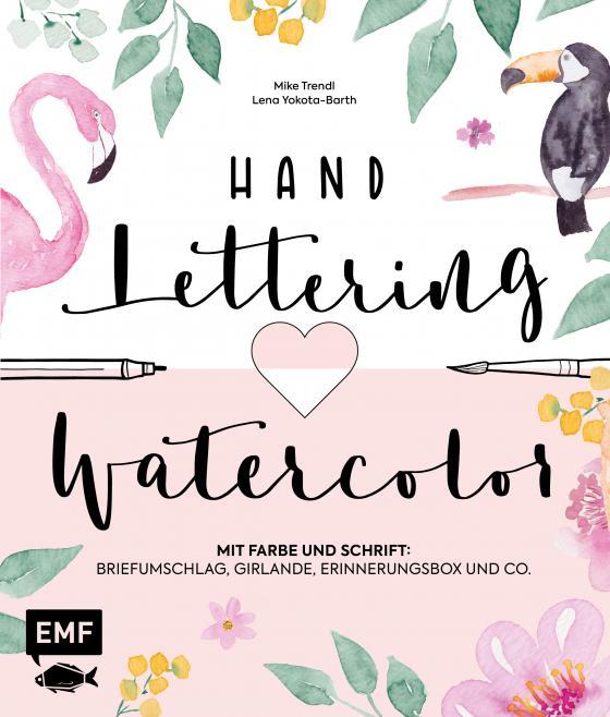 Cover-Bild Handlettering und Watercolor