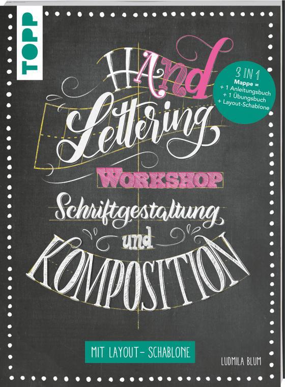 Cover-Bild Handlettering Workshop Schriftgestaltung und Komposition. Mit Layout-Schablone