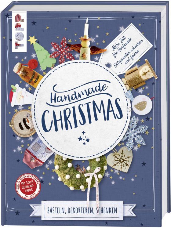 Cover-Bild Handmade Christmas. Basteln, dekorieren, schenken