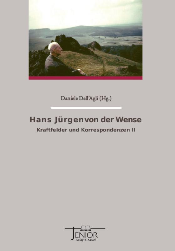 Cover-Bild Hans Jürgen von der Wense