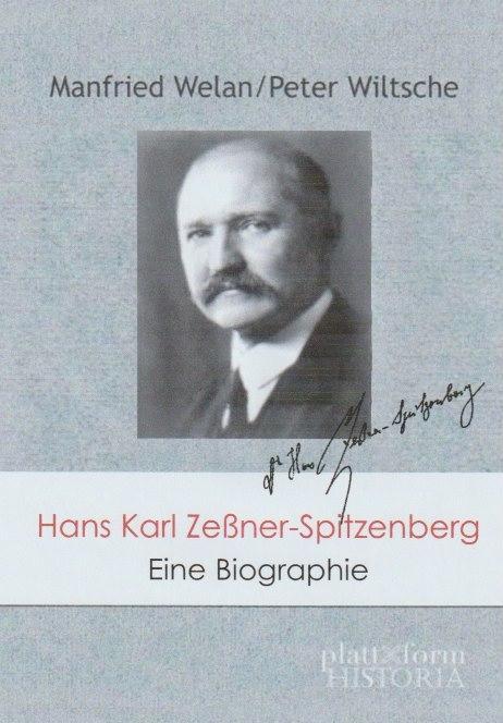 Cover-Bild Hans Karl Zeßner-Spitzenberg