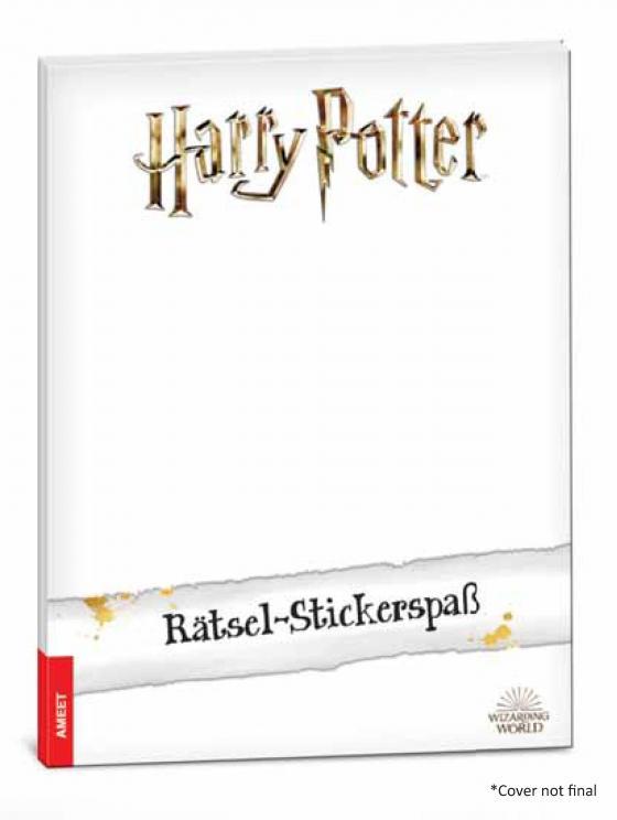 Cover-Bild Harry Potter™ – Rätsel-Stickerspaß