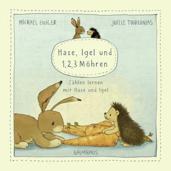 Cover-Bild Hase, Igel und 1, 2, 3 Möhren (Pappbilderbuch)