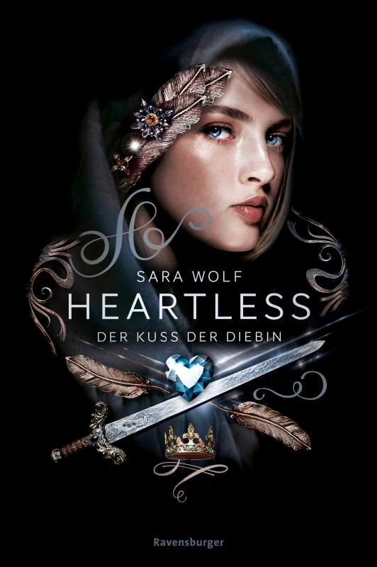 Cover-Bild Heartless, Band 1: Der Kuss der Diebin