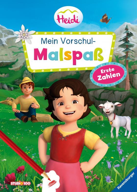 Cover-Bild Heidi: Mein Vorschul-Malspaß Erste Zahlen