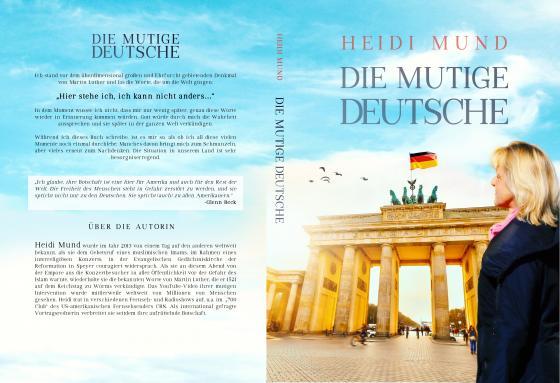 """Cover-Bild Heidi Mund """"Die Mutige Deutsche"""""""