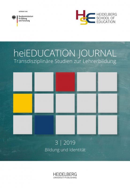 Cover-Bild heiEDUCATIONJOURNAL / Bildung und Identität