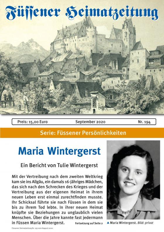 Cover-Bild Heimatzeitung Nr. 194
