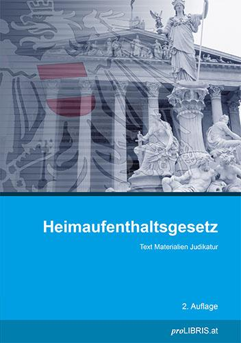 Cover-Bild Heimaufenthaltsgesetz