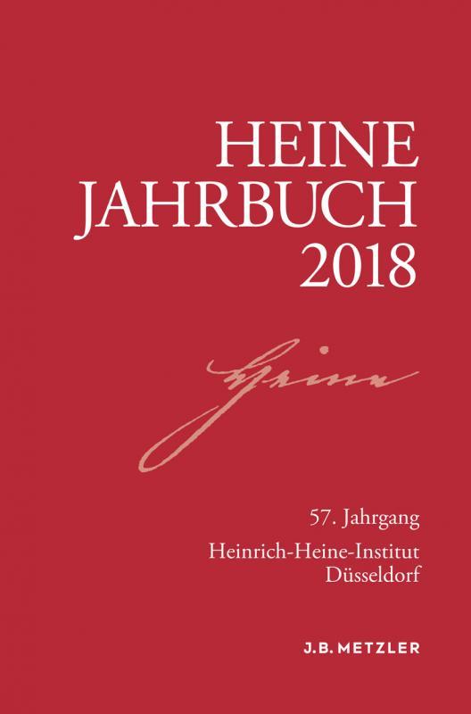 Cover-Bild Heine-Jahrbuch 2018