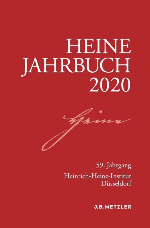 Cover-Bild Heine-Jahrbuch 2020
