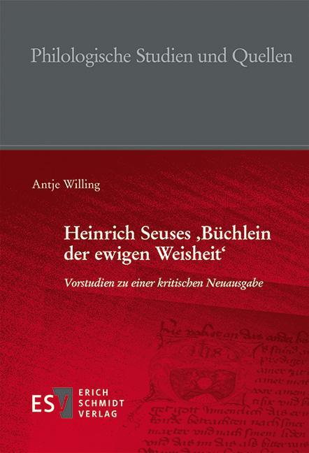 Cover-Bild Heinrich Seuses 'Büchlein der ewigen Weisheit'