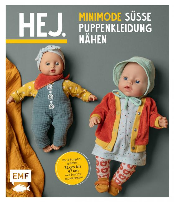 Cover-Bild Hej. Minimode – Süße Puppenkleidung nähen