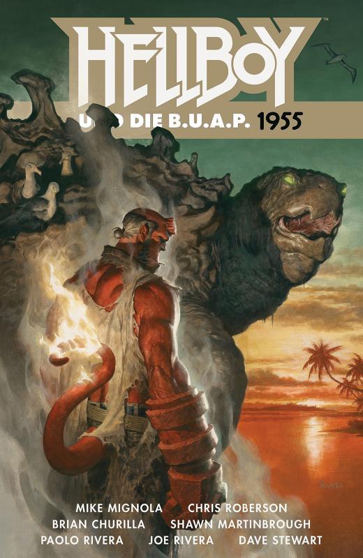 Cover-Bild Hellboy 18: Hellboy und die B.U.A.P. 1955