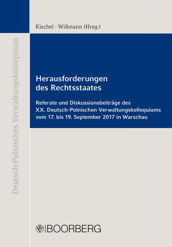 Cover-Bild Herausforderungen des Rechtsstaates