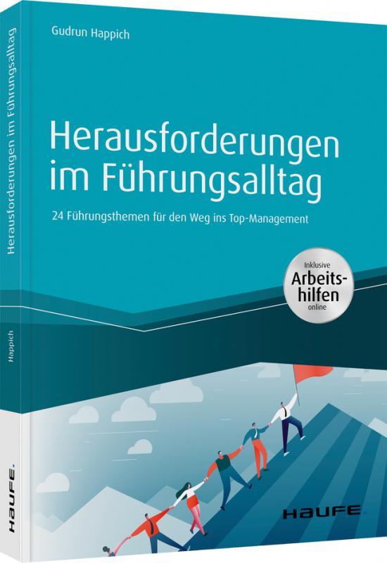 Cover-Bild Herausforderungen im Führungsalltag - inkl. Arbeitshilfen online