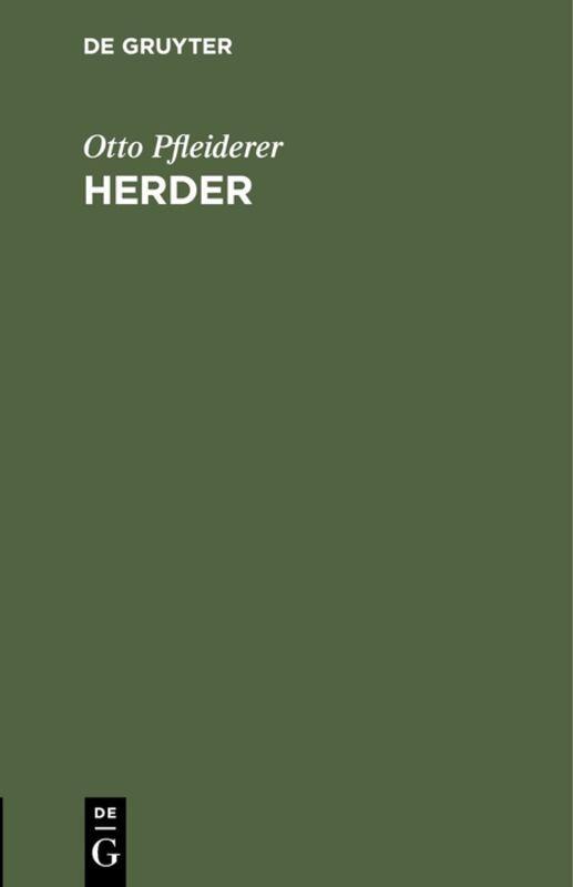 Cover-Bild Herder