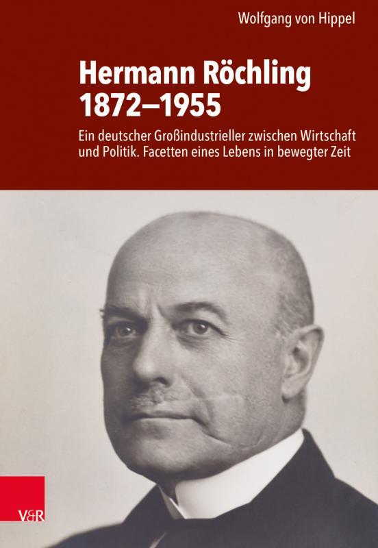 Cover-Bild Hermann Röchling 1872−1955