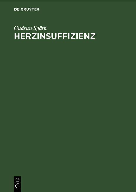 Cover-Bild Herzinsuffizienz