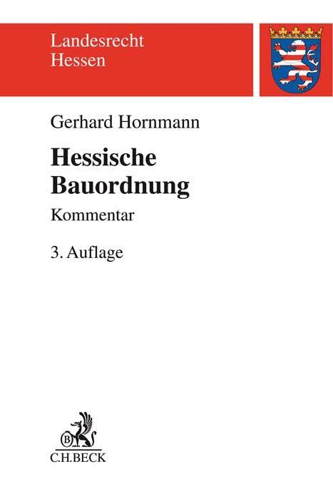 Cover-Bild Hessische Bauordnung (HBO)