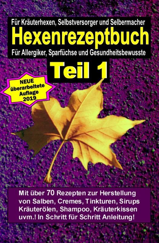 Cover-Bild Hexenrezeptbuch Teil 1