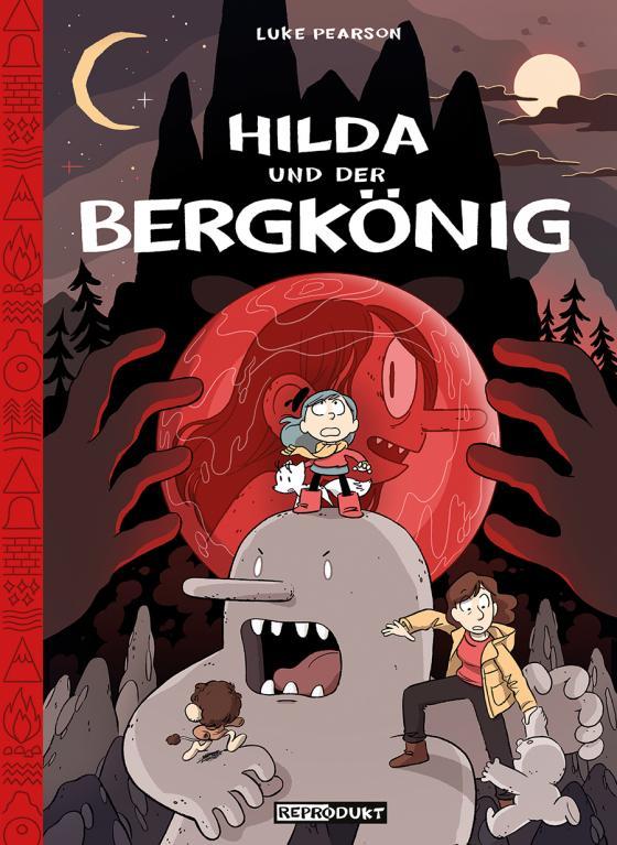 Cover-Bild Hilda / Hilda und der Bergkönig