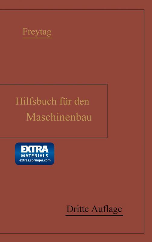 Cover-Bild Hilfsbuch für den Maschinenbau