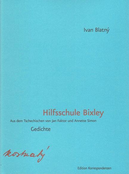 Cover-Bild Hilfsschule Bixley