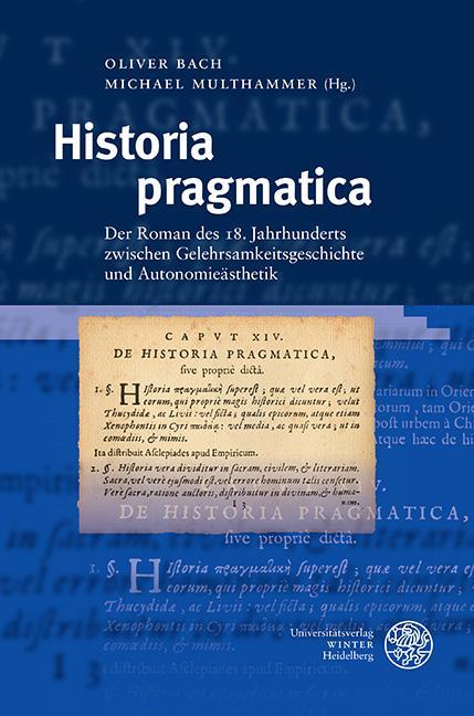 Cover-Bild Historia pragmatica